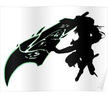 Riven - League of Legends - Black Poster