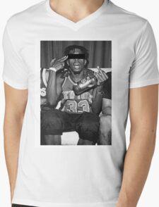 Crazy Boy Mens V-Neck T-Shirt