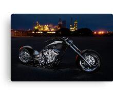 Harley-Davidson Custom Chopper Canvas Print