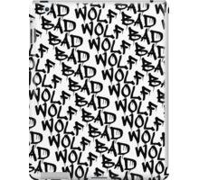 Bad Wolf - Doctor Who Graffiti Pattern iPad Case/Skin