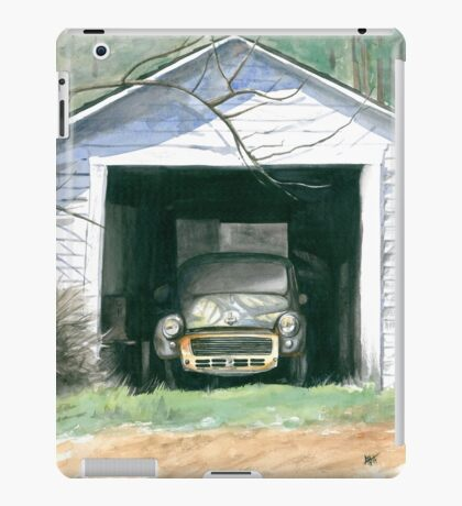 Morris In The Shed iPad Case/Skin