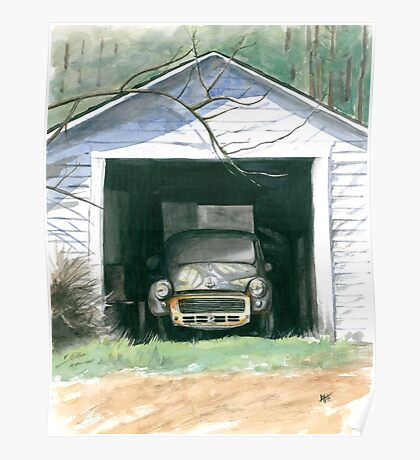 Morris In The Shed Poster