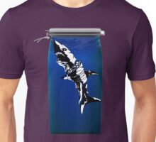 Shark in a jar Unisex T-Shirt