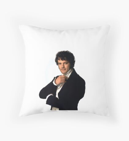 Colin Firth as Mr Darcy in Pride & Prejudice Throw Pillow
