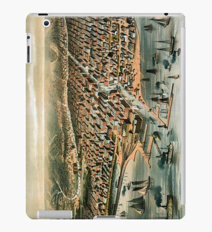 Chicago-Illinois-1872 iPad Case/Skin