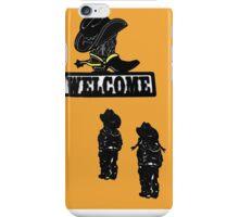 Western Welcome II iPhone Case/Skin
