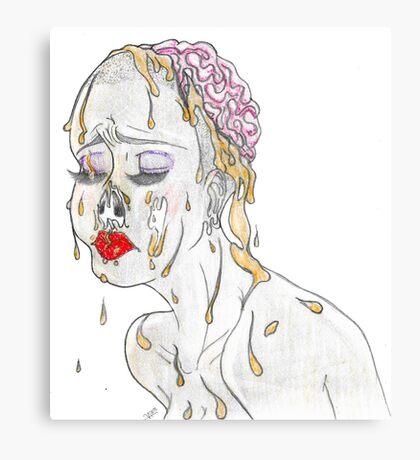 Faux Beauty Canvas Print