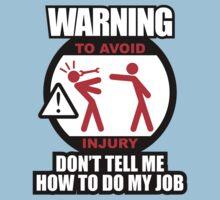 WARNING! TO AVOID INJURY (2) Kids Clothes