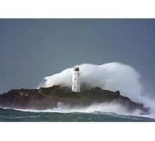 Godrevy Lighthouse Photographic Print