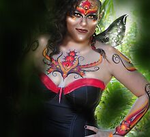 fae dreaming fire faerie by chrissy carter