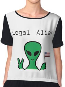 Legal Alien Chiffon Top