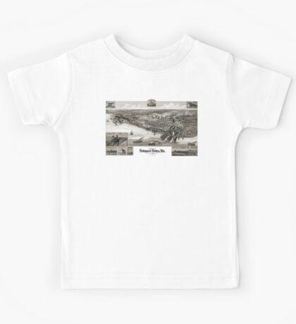Newport News-Virginia-1891 Kids Tee