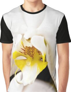 Pure white orchid Graphic T-Shirt