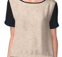 Skin Texture Pale With Lots of Freckles Chiffon Top