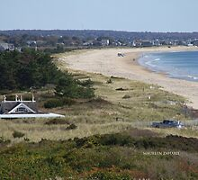 Taylor Swift's View of east beach watch hill, ri -  by Maureen Zaharie