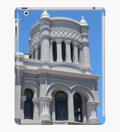 Blue and White Architecture iPad Case/Skin