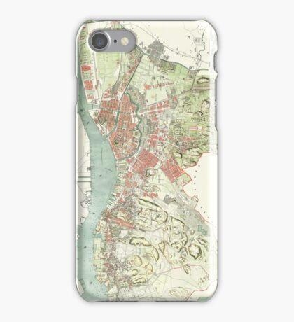 Map of Gothenburg - 1888 iPhone Case/Skin