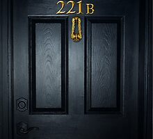 Sherlock 221b Door by SaraduJour