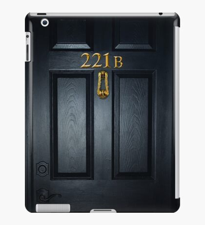 Sherlock 221b Door iPad Case/Skin