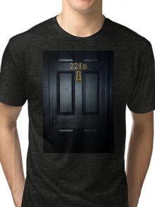 Sherlock 221b Door Tri-blend T-Shirt