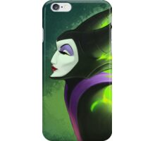 Maleficent - Beautifuly Burning iPhone Case/Skin