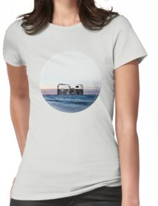 Camera Skyline Womens Fitted T-Shirt
