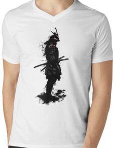Armored Samurai Mens V-Neck T-Shirt