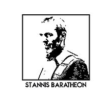 Stannis Baratheon Inspired Artwork 'Game of Thrones' Photographic Print