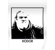 Hodor Inspired Artwork 'Game of Thrones' Poster