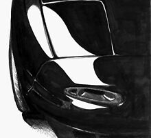 Mazda Miata NA sketch by almostproper