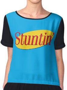 Stuntin' x Seinfeld Chiffon Top