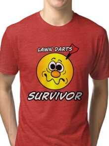 Lawn Darts Survivor Tri-blend T-Shirt