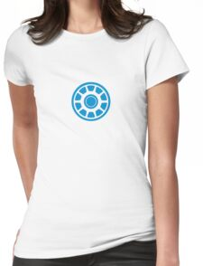 Iron Man Arc Reactor Womens Fitted T-Shirt