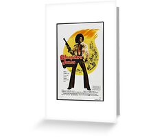 Cleopatra Jones (Red) Greeting Card