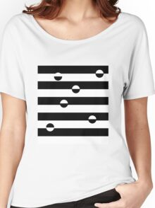dots and stripes... Women's Relaxed Fit T-Shirt