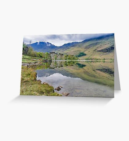 Buttermere Reflections Greeting Card