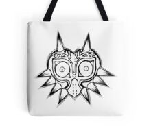 The Majora's Mask_black Tote Bag