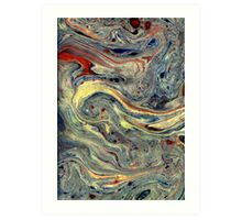 Miscellaneous Marble Art Print