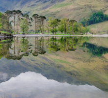 Buttermere Reflections Sticker