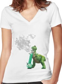 To infinity and beyond Women's Fitted V-Neck T-Shirt