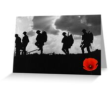 Poppy Appeal 2014 Greeting Card