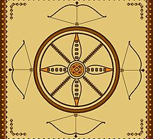 Kaala - The Wheel of Time   by varnasarovara