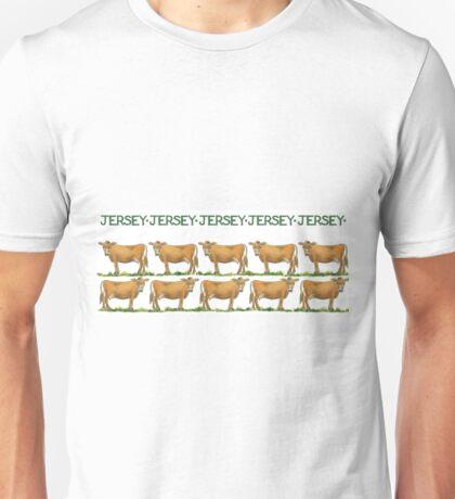 Jersey Cows Unisex T-Shirt