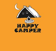 Happy Camper - Smiling Faces In A Tent Unisex T-Shirt