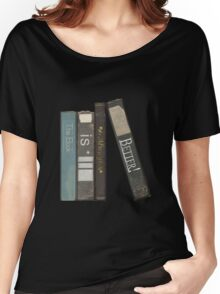 The Book is Always Better Women's Relaxed Fit T-Shirt