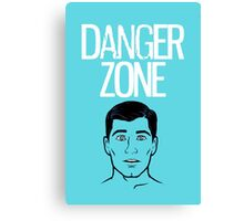 archer danger zone  Canvas Print
