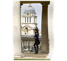 A day out in Greenwich -  Poster