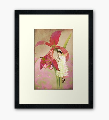 Flower Spirit Framed Print