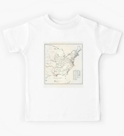 Historical sketch of the Rebellion-1863 Kids Tee
