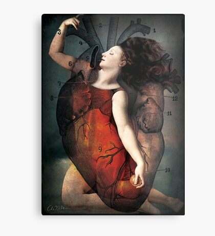 With all my heart Metal Print
